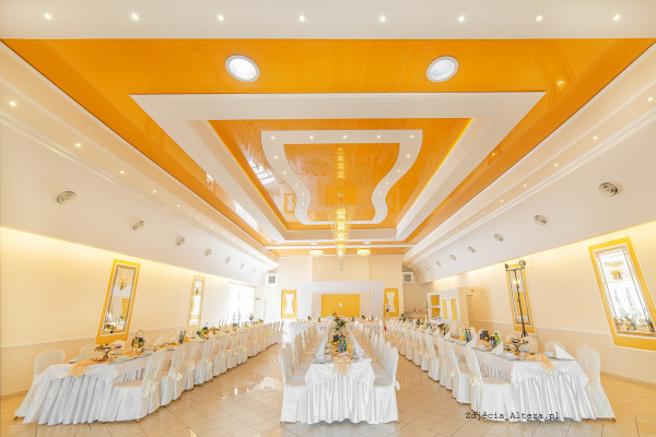 3D Stretch Ceilings - Restaurant