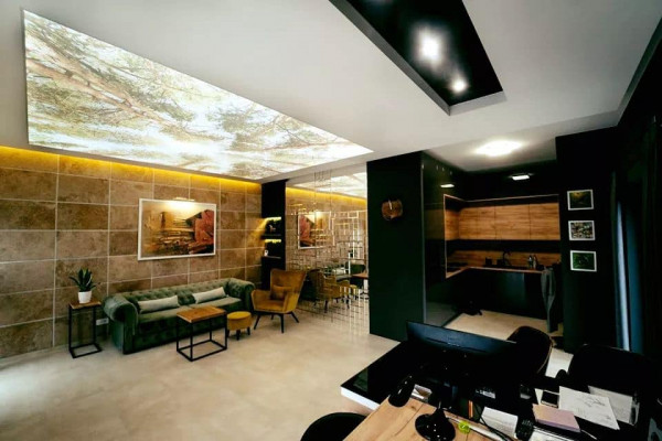 3D Stretch Ceilings - Man cave